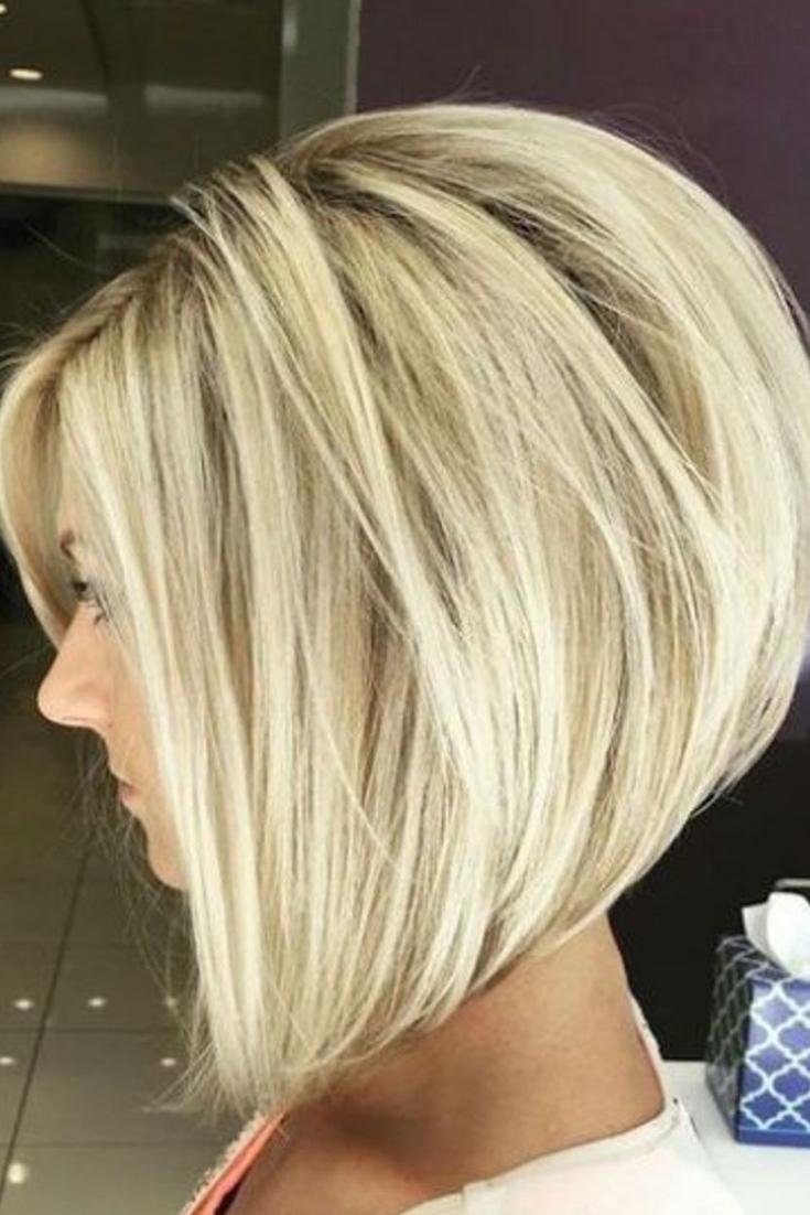 Album : Les +20 belles photos de coiffure femme carré plongeant - LiloBijoux - Bijoux Fantasie ...