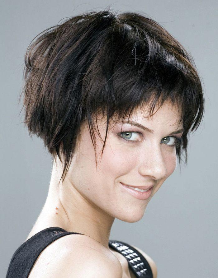 Liste : Les +20 belles images de coiffure femme carré plongeant court - LiloBijoux - Bijoux ...