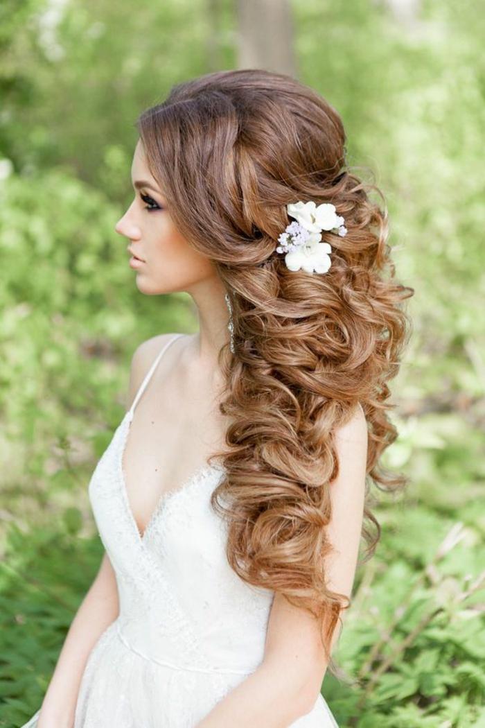Liste : Les +20 meilleures photos de coiffure femme mariage cheveux long - LiloBijoux - Bijoux ...