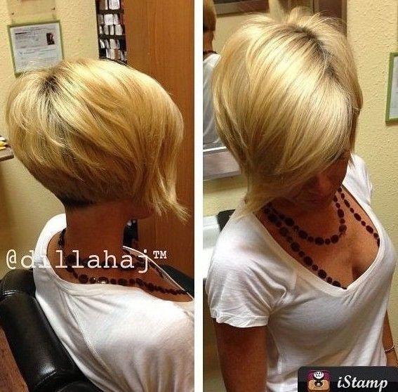 Liste : Les +20 top idées de coiffure femme long devant court derriere - LiloBijoux - Bijoux ...