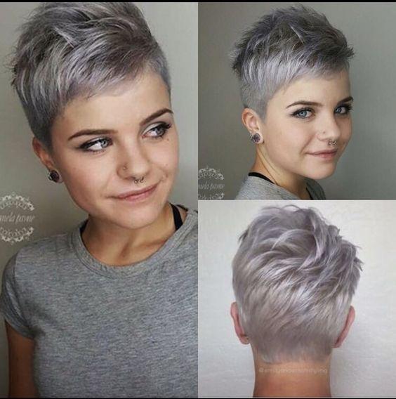 coiffure femme coupe courte moderne