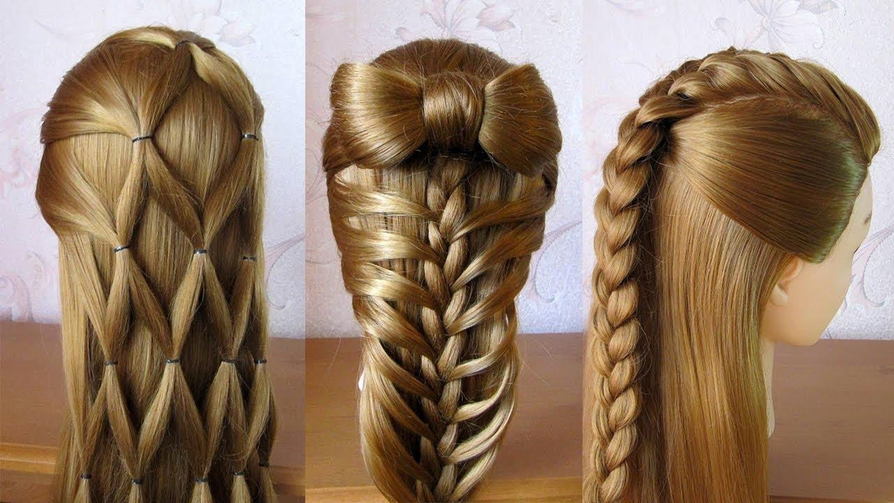 3 coiffures faciles Coiffures pour tous les jours