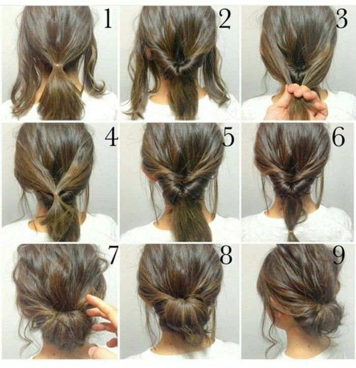 coiffure femme cheveux long facile
