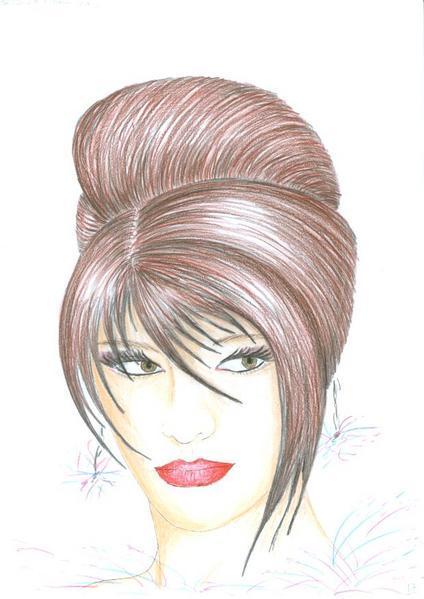 Coiffure Femme Dessin   macyjeniferstacy web