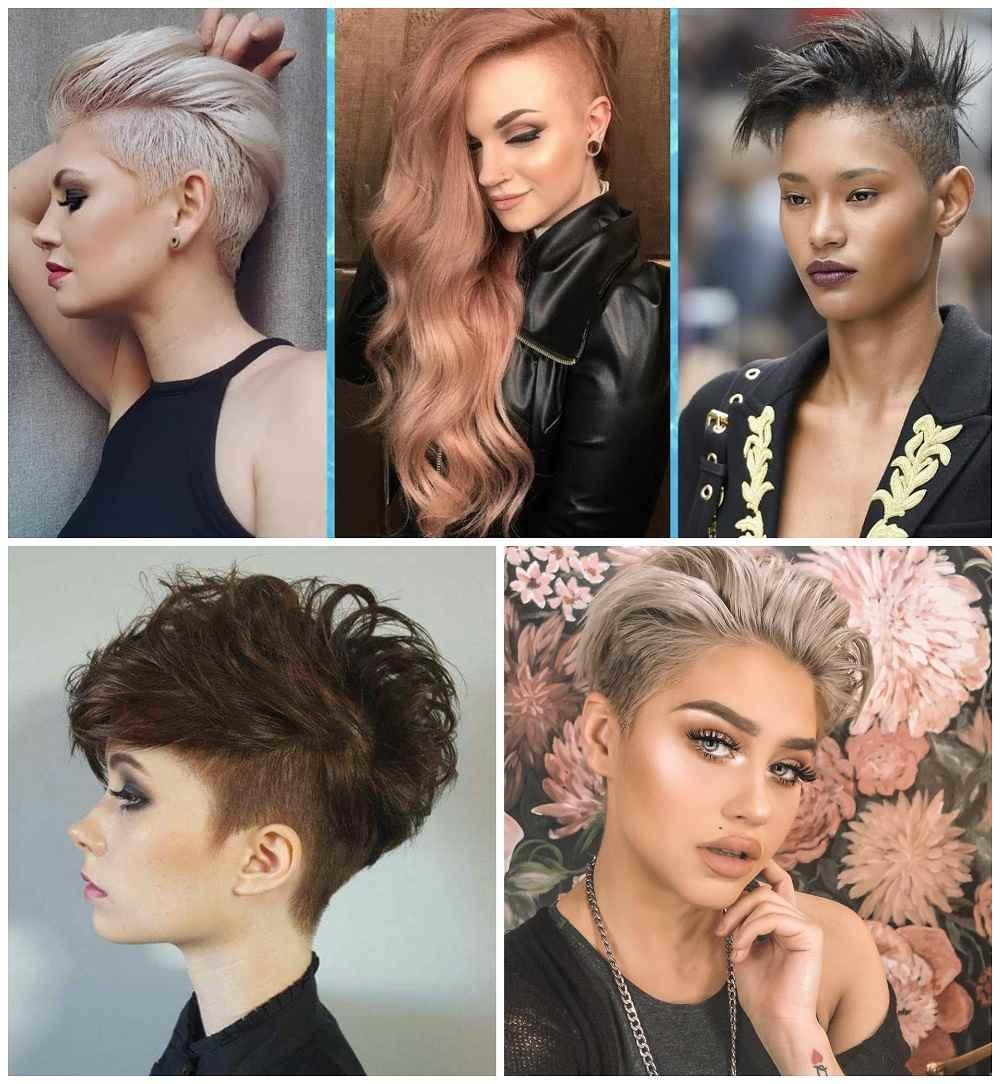 +20 top idées de coupe de cheveux femme court rasé sur le coté - LiloBijoux - Bijoux Fantasie ...