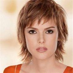 coiffure femme effilée