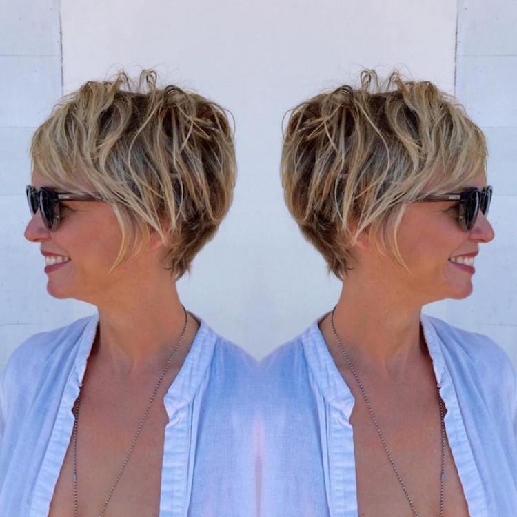 Liste : Les +20 top photos de modèle coiffure courte femme 50 ans - LiloBijoux - Bijoux Fantasie ...