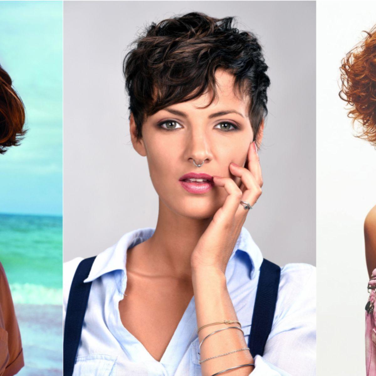 +20 belles photos de coupe cheveux femme bouclé court - LiloBijoux - Bijoux Fantasie tendances ...