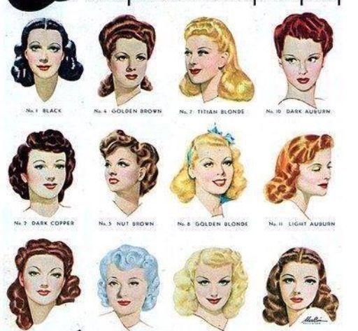 Liste : Les +20 meilleures idées de coiffure année 40 femme - LiloBijoux - Bijoux Fantasie ...