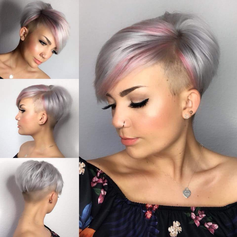 coiffure femme court 2020