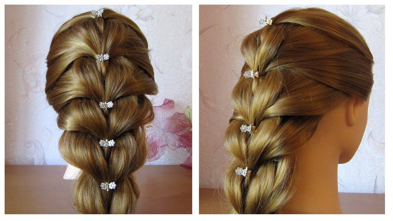 Tuto coiffure simple cheveux mi long/long Tresse facile